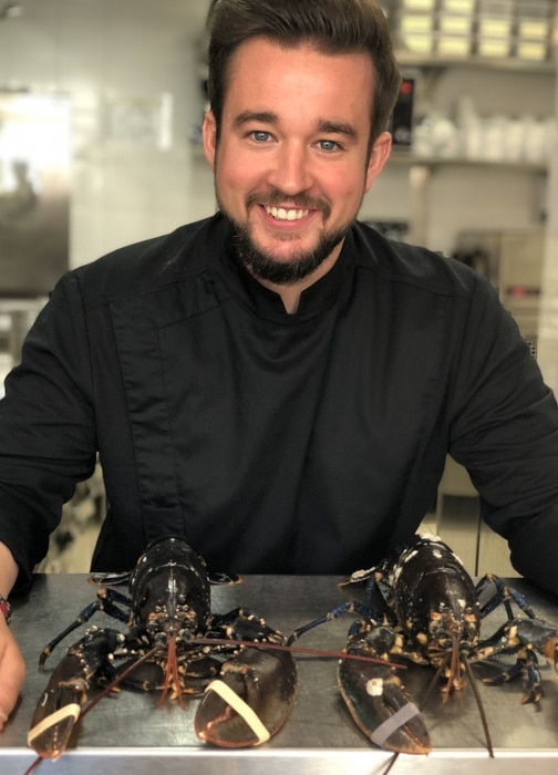 Chef restaurant La Palmeraie