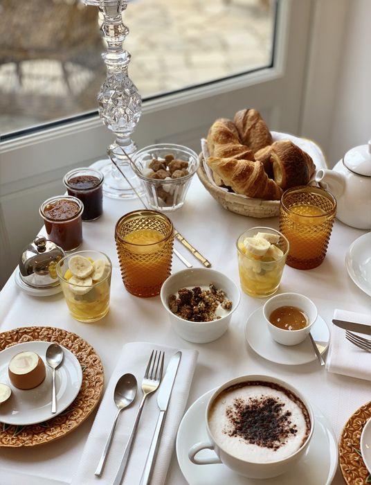 Le petit déjeuner de La Palmeraie